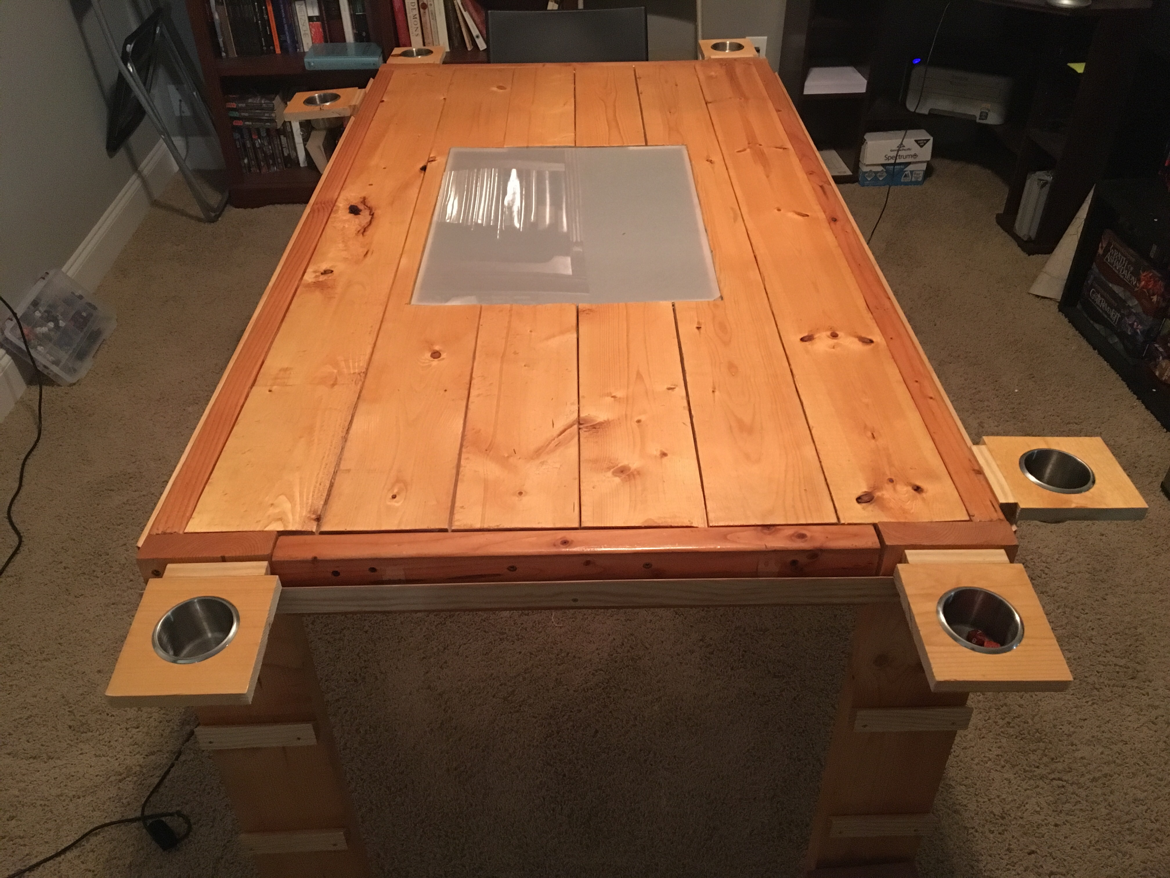 In Part 1 I Explained How I Made The Original Version Of This Table. The  Plans For The Base Table Can Be Found On Ana White.com.
