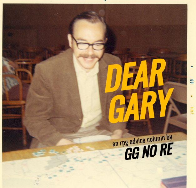 Dear Gary